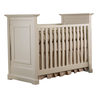 Baby Cache Capecod 3-in-1 Convertible Crib - Light Gray