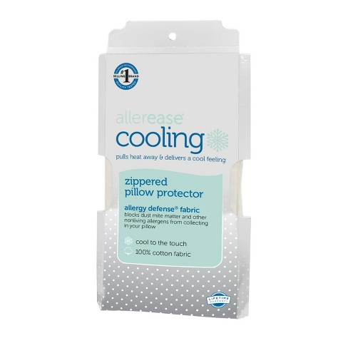 Cooling Pillow Protector - Allerease - image 1 of 4