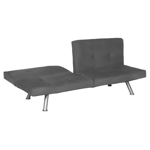 Contempo Futon Charcoal - Dorel Home Products - image 1 of 5