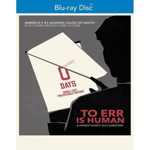 To Err Is Human (Blu-ray)(2019) - image 1 of 1