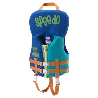 Speedo Infant Boys Neoprene Lifevest - Blue