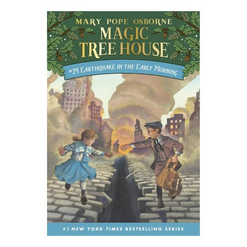 Earthquake in the Early Morning ( Magic Tree House) (Paperback) by Mary Pope Osborne - image 1 of 1