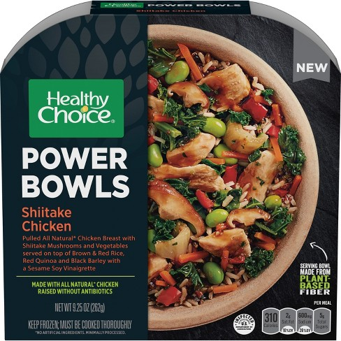 Healthy Choice Shiitake Frozen Chicken Power Bowls - 9.25oz - image 1 of 1