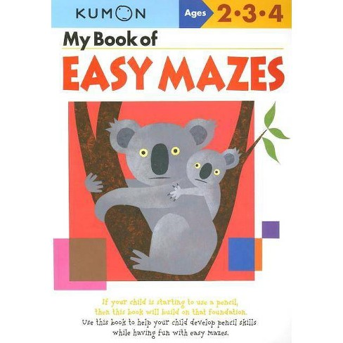 My Book of Easy Mazes - (Kumon Workbooks) (Paperback) - image 1 of 1