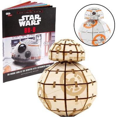 Incredibuilds Star Wars BB-8 Book & Wood Model Figure Kit