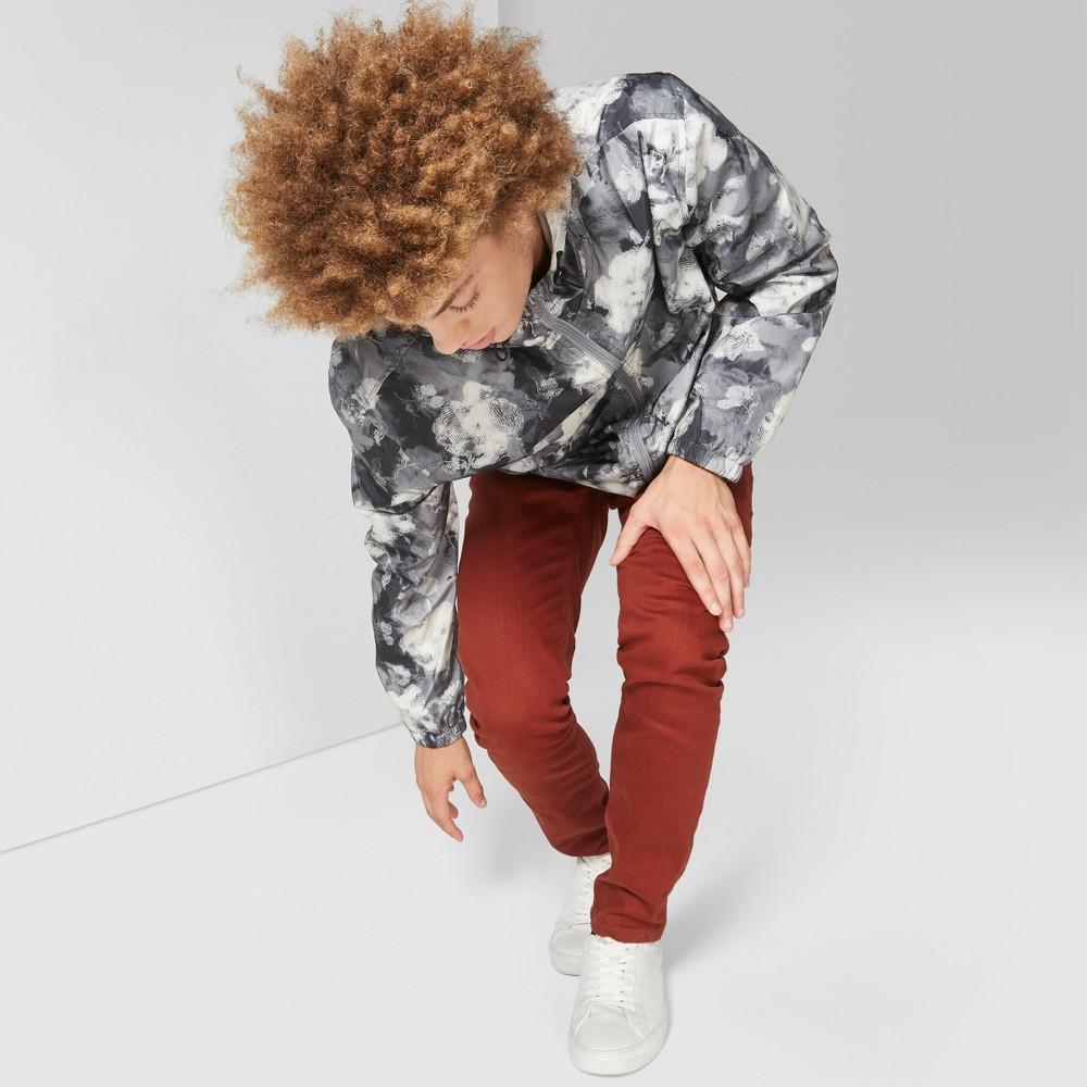 Men's Slim Fit Denim Pants - Original Use Brown 38