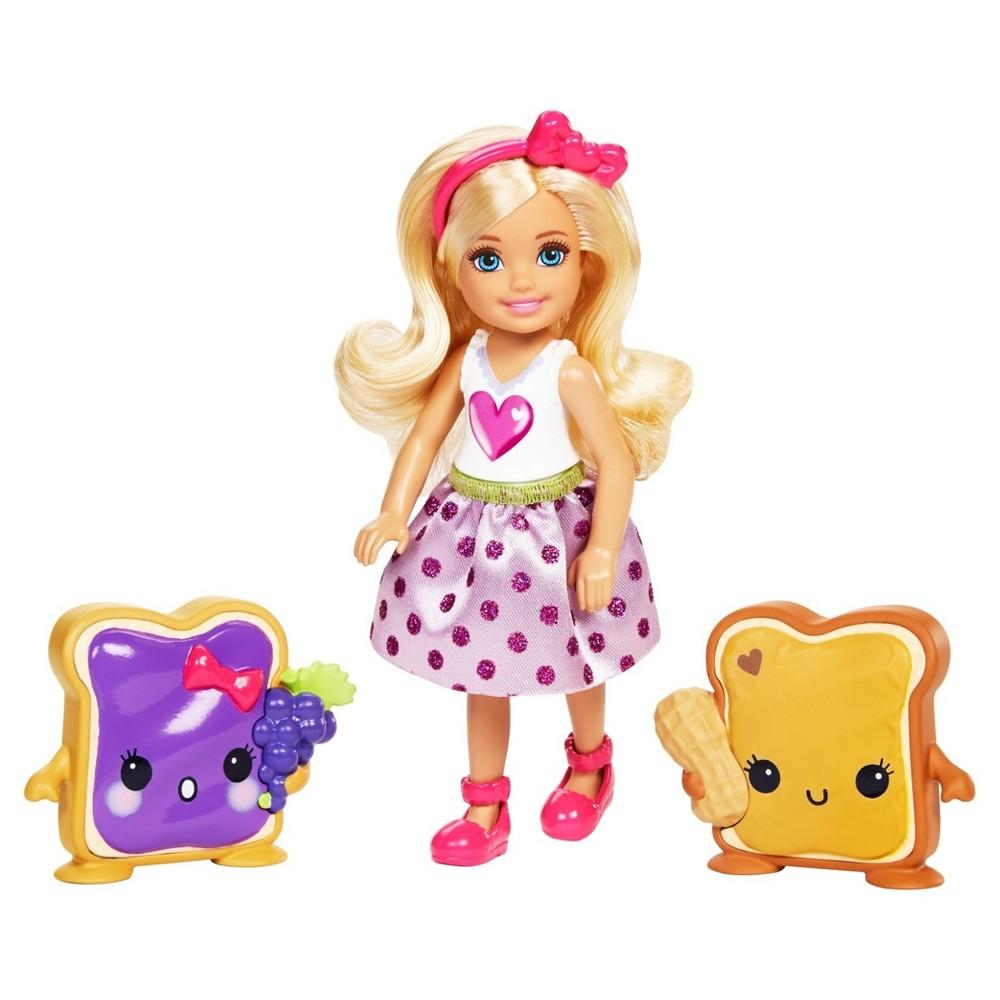 Barbie Dreamtopia Chelsea Doll and Sandwich Friend