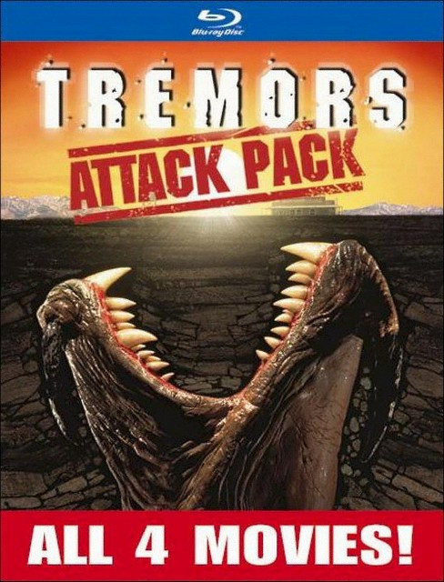Tremors Attack Pack (Blu-ray) - image 1 of 1