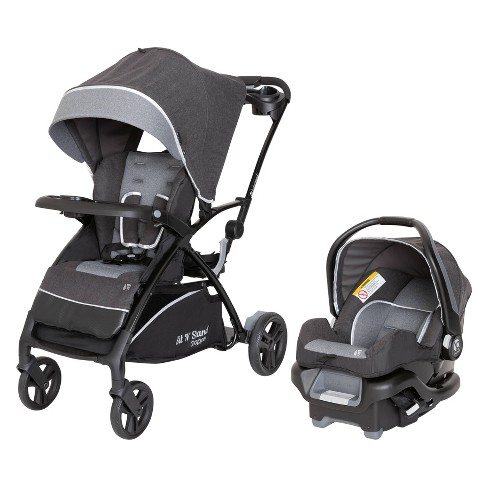 Baby Trend Sit N Stand 5 In 1 Shopper Stroller Travel System Gray Target