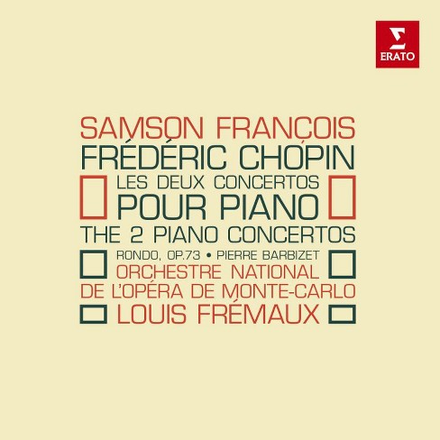Samson francois - Chopin:Piano concertos (CD) - image 1 of 1