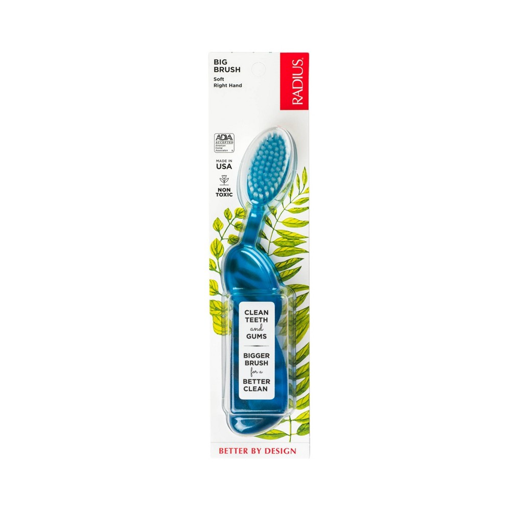 Image of Radius Original Soft Right Hand Toothbrush - 1ct