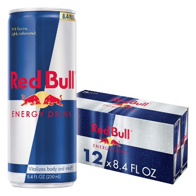 Red Bull Energy Drink - 12pk/8.4 fl oz Cans