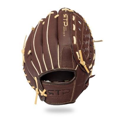 "Franklin Sports 10"" Pigskin Brown/Camel Baseball Glove - Right Hand Thrower"