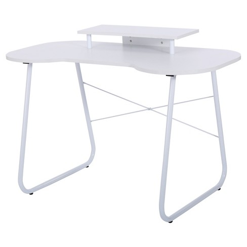 Adysen Melamine Computer Desk -White, Christopher Knight Home - image 1 of 4