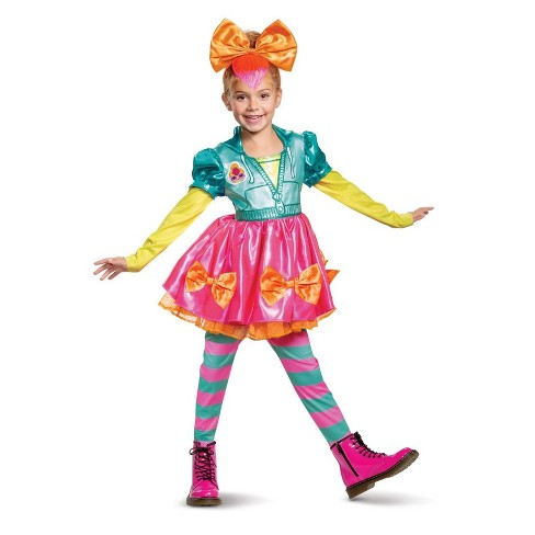 Girls' L.O.L. Surprise! Neon QT Deluxe Halloween Costume S - image 1 of 1