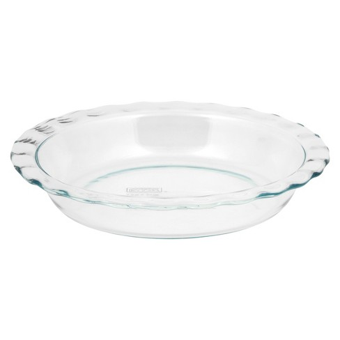 Pyrex Grip Rite 9 5 Quot Glass Pie Pan Target