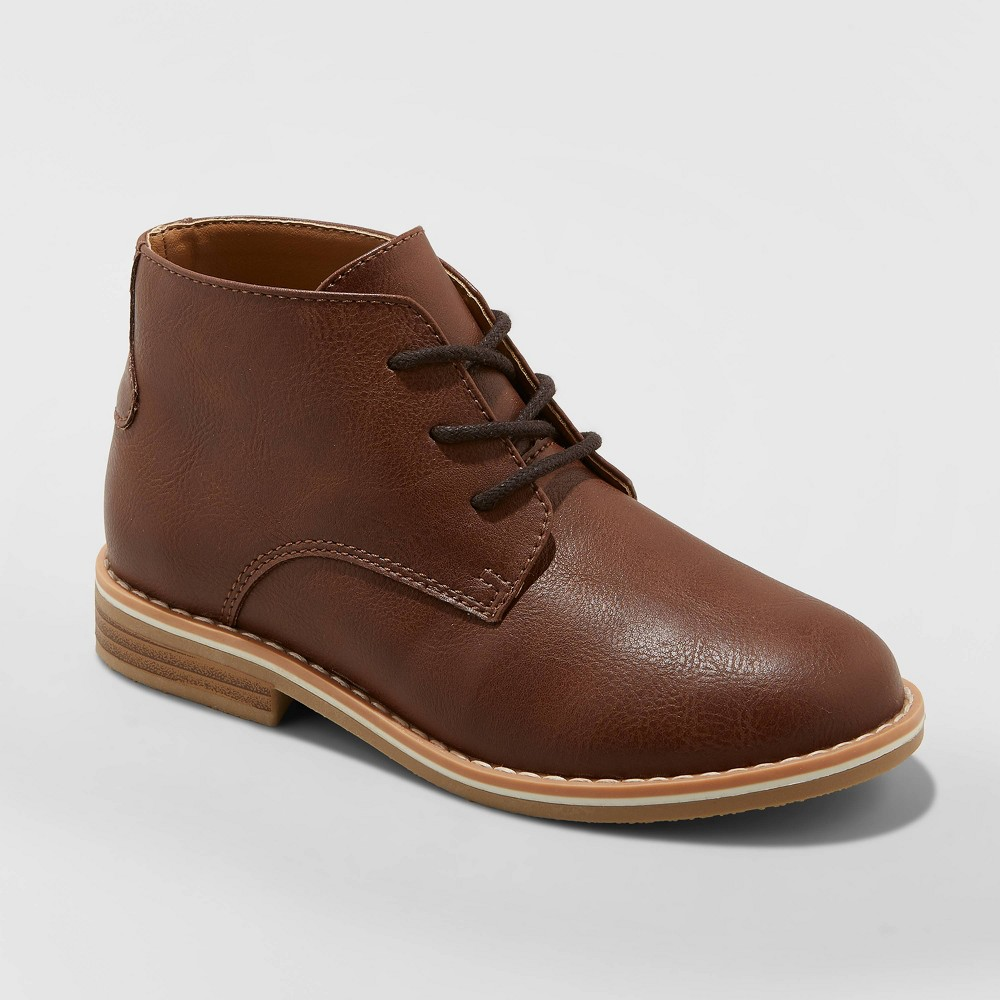 Image of Boys' Filip Chukka Boots - Cat & Jack Brown 13, Boy's