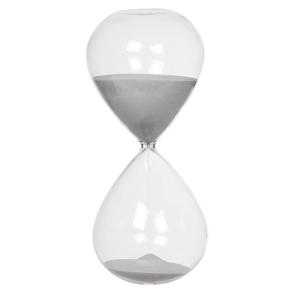 Image of Sand-Filled Hour Glass, Clear