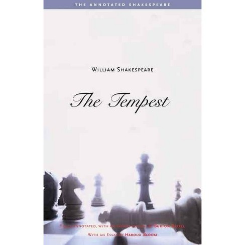 The Tempest - (Annotated Shakespeare) by  William Shakespeare (Paperback) - image 1 of 1