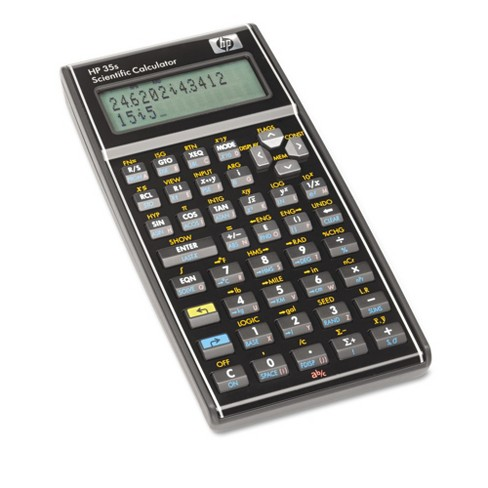 Hewlett-Packard Scientific Calculator Battery-powered - Black - image 1 of 2
