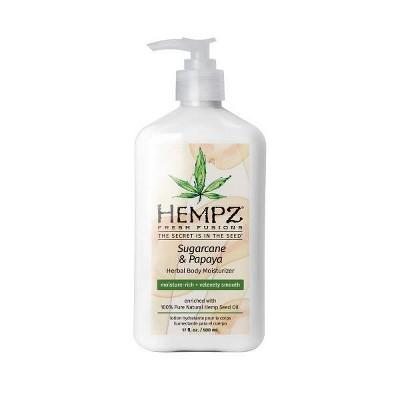 Hempz Sugarcane Sugarcane and Papaya Herbal Body Moisturizer - 17 fl oz