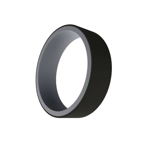 QALO Men's Switch Silicone Ring - Gray and Black - image 1 of 3