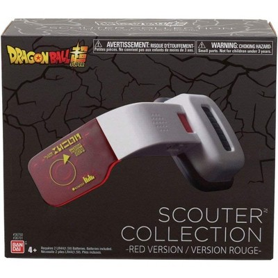 Bandai Dragon Ball Super Scouter Collection Electronic Red Scouter