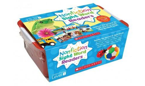 Nonfiction Sight Word Readers Classroom Tub, Level B, Grades PreK-1 : Teaches the Second 25 Sight Words - image 1 of 1