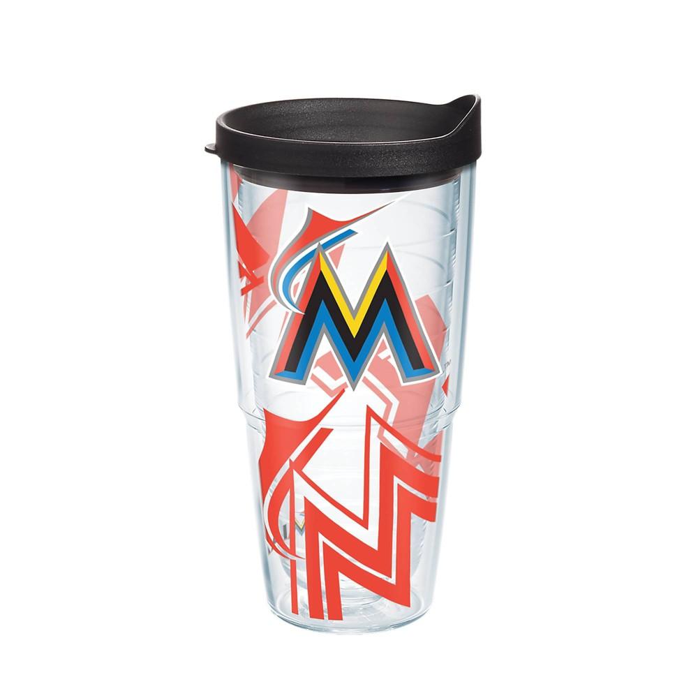 MLB Miami Marlins 24oz Genuine Tumbler