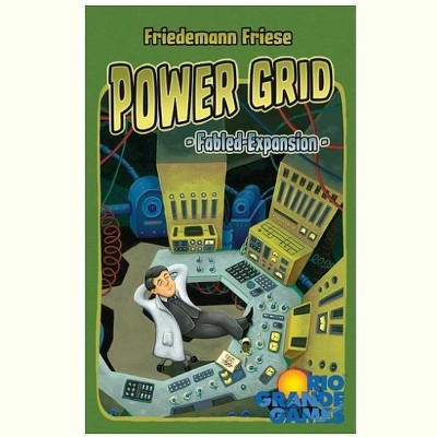 Fabled Cards - Power Grid Expansion Board Game
