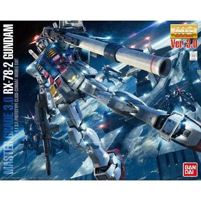 Bandai Hobby MG Gundam RX-78-2 Ver. 3.0 1/100 Scale Model Kit