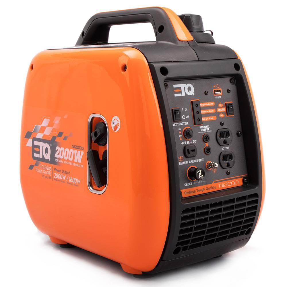 Image of 2.0KW Portable Power Gas Inverter Orange - ETQ