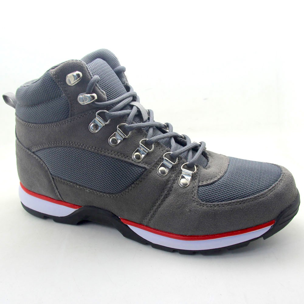 Men's Ashon Cold Weather Hybrid Hiking Sneakers - Goodfellow & Co Grey 8.5, Gray