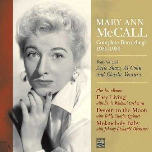 Mary Ann Mccall - Complete Recordings 1950-1959 (CD) - image 1 of 1