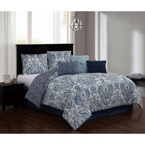 7pc Kadia Comforter Set - Geneva Home Fashion - image 1 of 2