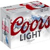 Coors Light Beer - 12pk/12 fl oz Cans - image 3 of 4