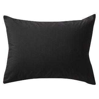 Black Solid Pillow Sham (Standard) - Room Essentials™