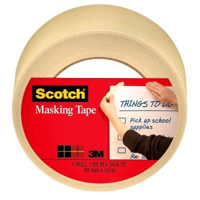 """Scotch Masking Tape 1.88"""" x 50m"""