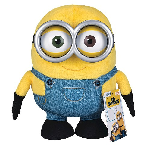 despicable me huggable plus minion toy bob target