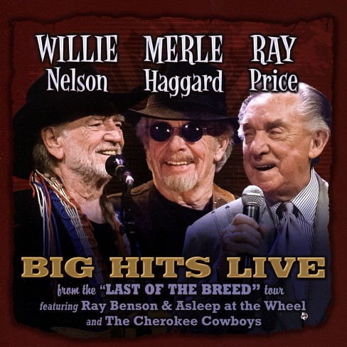 Willie nelson - Willie merle & ray:Big hits live (CD) - image 1 of 1