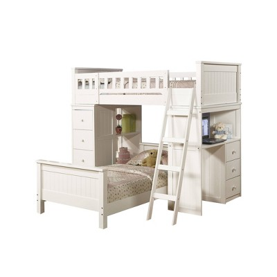 Twin Willoughby Kids' Loft Bed White - Acme Furniture