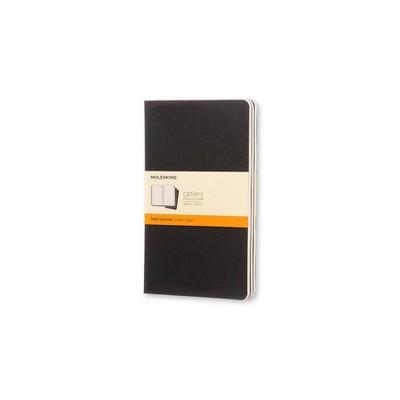 "Moleskine Solid Blank Journal 8.25"" x 5"" Black"