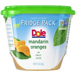 Dole Mandarin Oranges in Fruit Juice - 15oz