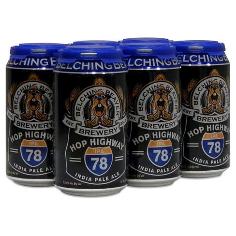 Belching Beaver Hop Highway IPA Beer - 6pk/12 fl oz Cans - image 1 of 1