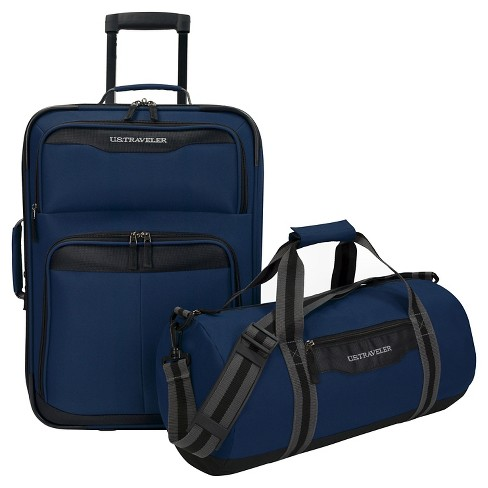 U.S. Traveler Hillstar 2-Piece Casual Luggage Set - image 1 of 6