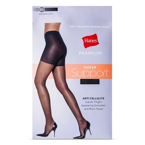 ac7a28684 Hanes Solutions Women s Sheer Hi Waist Shaping Pantyhose   Target