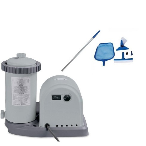 Intex 1500 Gph Pool Filter Pump With Timer & Intex Swimming Pool ...