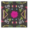 """Blue Panda 150-Pack Disposable Paper Napkins Totally 80s Party Supplies, 2-Ply, 6.5x6.5"""" - image 2 of 3"""