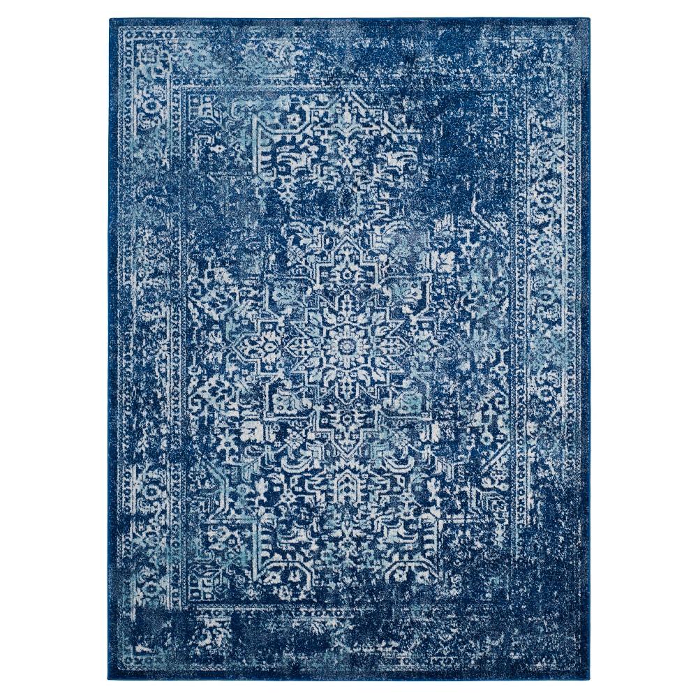 Evoke Rug - Navy/Ivory (Blue/Ivory) - (6'7x9') - Safavieh