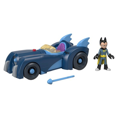 Fisher-Price Imaginext Teen Titans Go! Robin and Batmobile - image 1 of 6